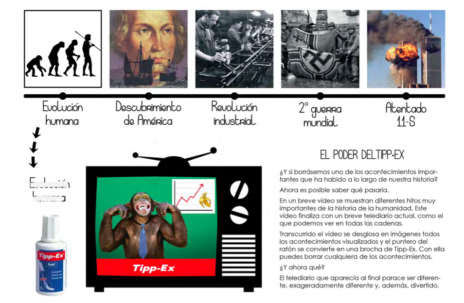 Campaña online Tippex